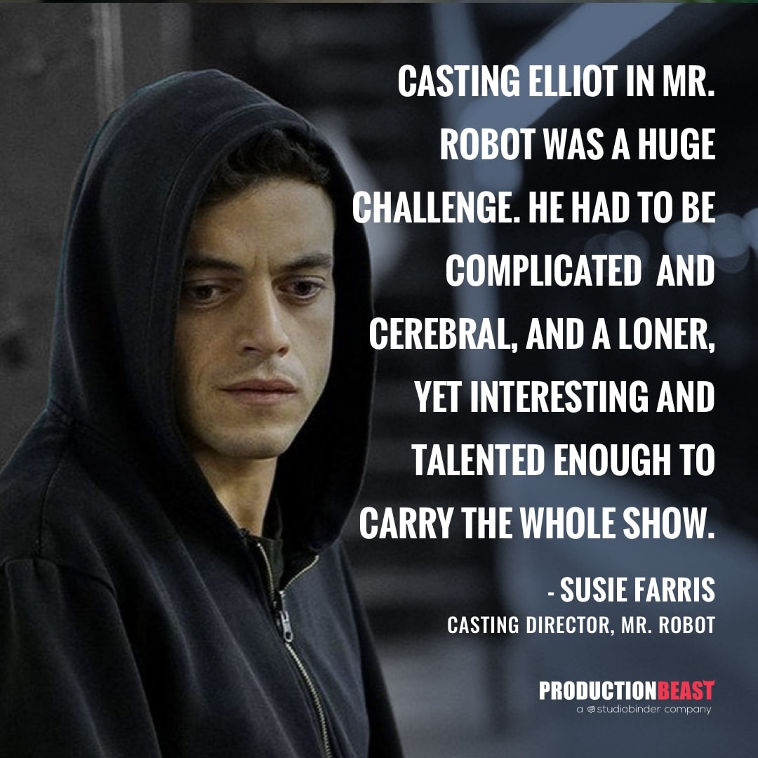 Casting Director - Casting Mr Robot - ProductionBeast