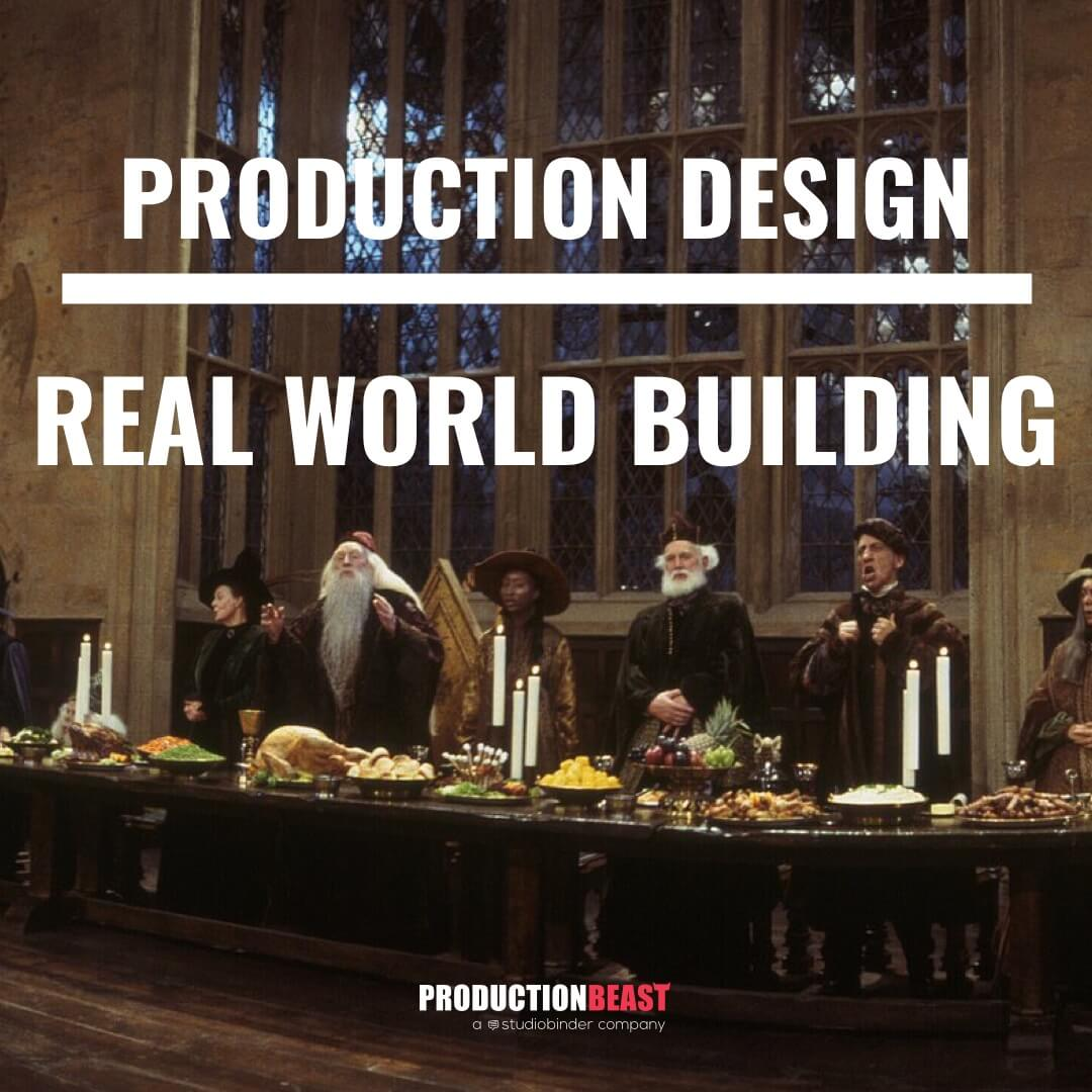 Production Designer  - Harry Potter - ProductionBeast