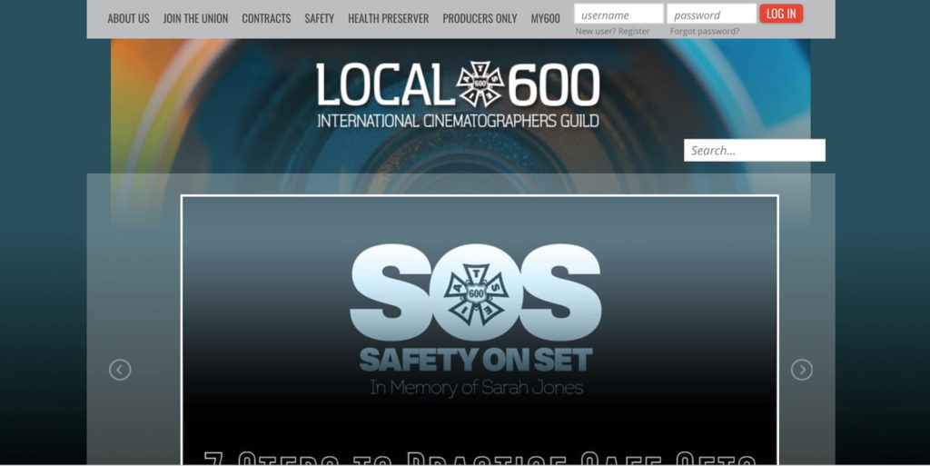 Camera Operator - Local 600 - ProductionBeast